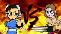 Street Fighter V's Weird Fighting Styles (Street Fighter V Cartoon Animation) (1)