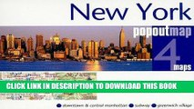 Read Now New York City PopOut Map - pop-up city street map of Manhattan New York - folded pocket