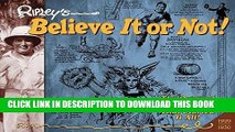 Read Now Ripley s Believe It or Not!: Daily Cartoons 1929-1930 (Ripleys Believe It or Not Orig