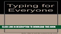 [New] Ebook Typing for Everyone (Arco Typing   Keyboarding for Everyone) Free Read