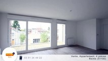 A vendre - Appartement - Reims (51100) - 4 pièces - 80m²