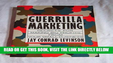 [New] Ebook Guerrilla Marketing Free Read