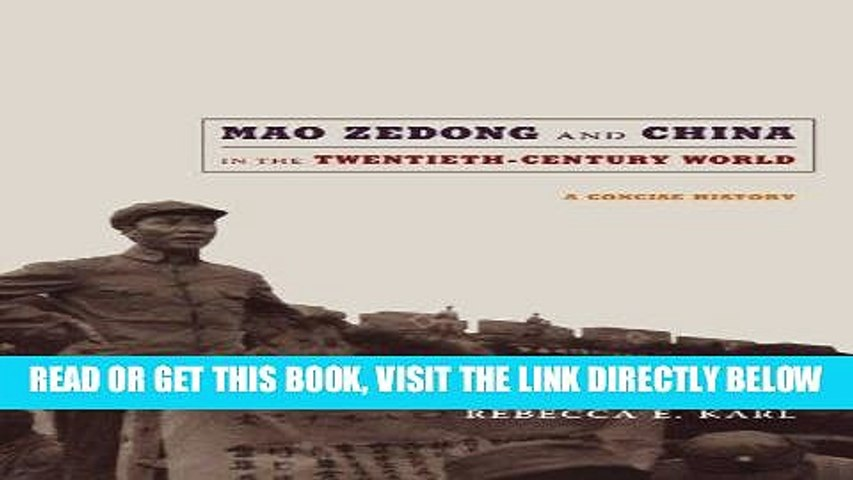 Ebook Download Mao Zedong And China In The Twentieth Century World A Concise History