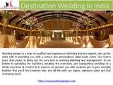 Destination Wedding in India | Luxury Wedding Destination