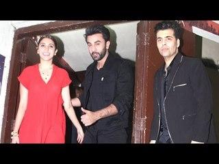 Ae Dil Hai Mushkil Movie Screening Full Video - Ranbir,Anushka,Karan Johar,Alia Bhatt