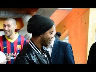Ronaldinho dans L'Ami Sports