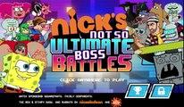 Nickelodeon - Nicks Not So Ultimate Boss Battles | Fight Against Evil Villain [Game 4 Kids Only]
