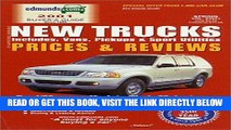 [FREE] EBOOK Edmund s New Trucks Prices and Reviews: Includes; Vans, Pickups and Sport Utilities