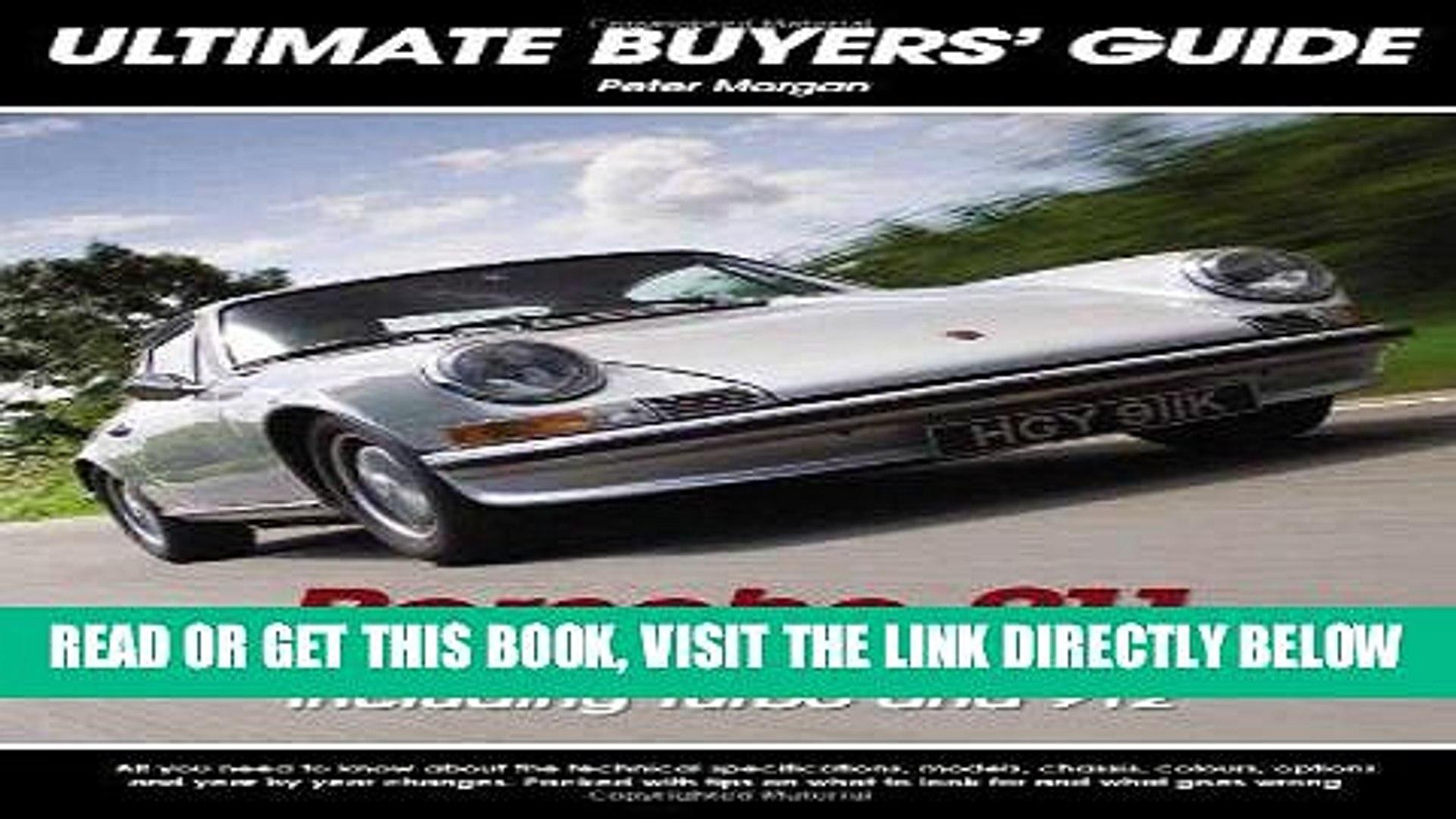 [READ] EBOOK Porsche 911 The classic models (1964-1989): The Classic Models (1964-1989) Including
