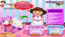 Dora Washing Dresses - Fun Dora Games for little Girls - New Dora Kid Games Videos HD