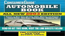 [FREE] EBOOK 2003 Automobile Book (Consumer Guide Automobile Book) BEST COLLECTION