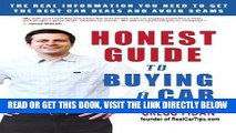 [READ] EBOOK Honest Guide to Buying a Car - How to Get the Best Deals and Never Worry About Being