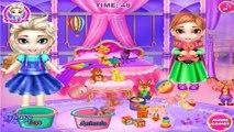❤ Disney Frozen ELSA and ANNA dolls Washing Toys - Frozen ELSA and ANNA and KRISTOFF Cosplay Songs