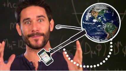 Cómo medir la Tierra con un palo de selfie