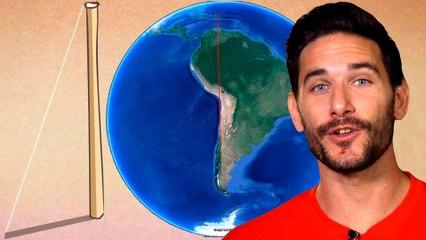 ¿Puedes medir el radio de la Tierra con un palo? | RETO #EligeTuPalo
