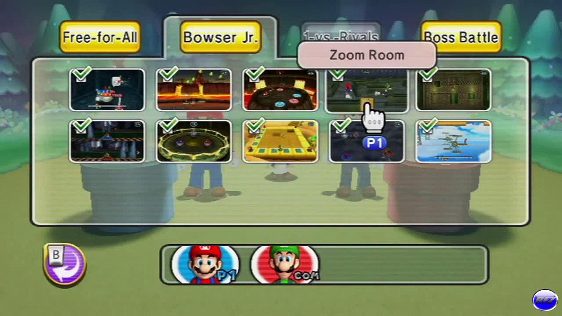 Mario Party 9 Zoom Room Vs Bowser Jr