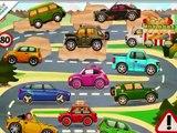 voitures dessins animés pour enfants, voitures de course dessin animé, dessin animé drôle