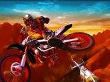 Jeux de course en motos, dessin animé pour les enfants