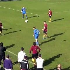 Perfect Curve Goal Scored In Local Match