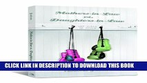 [PDF] Mothers-in-Law vs. Daughters-in-Law: Let There Be Peace [Online Books]
