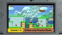 Super Mario Maker sur 3DS – Trailer Medal Challenges