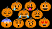 Pumpkin Emojis - Halloween Jack-O'-Lantern Emoji - The Kids' Picture Show (Fun & Educational)