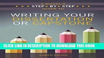 [PDF] 2015 AJN Award Recipient A Nurse s Step-by-Step Guide to Writing Your Dissertation or