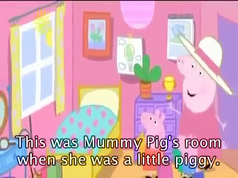 Peppa Pig Granny Pigs Chickens