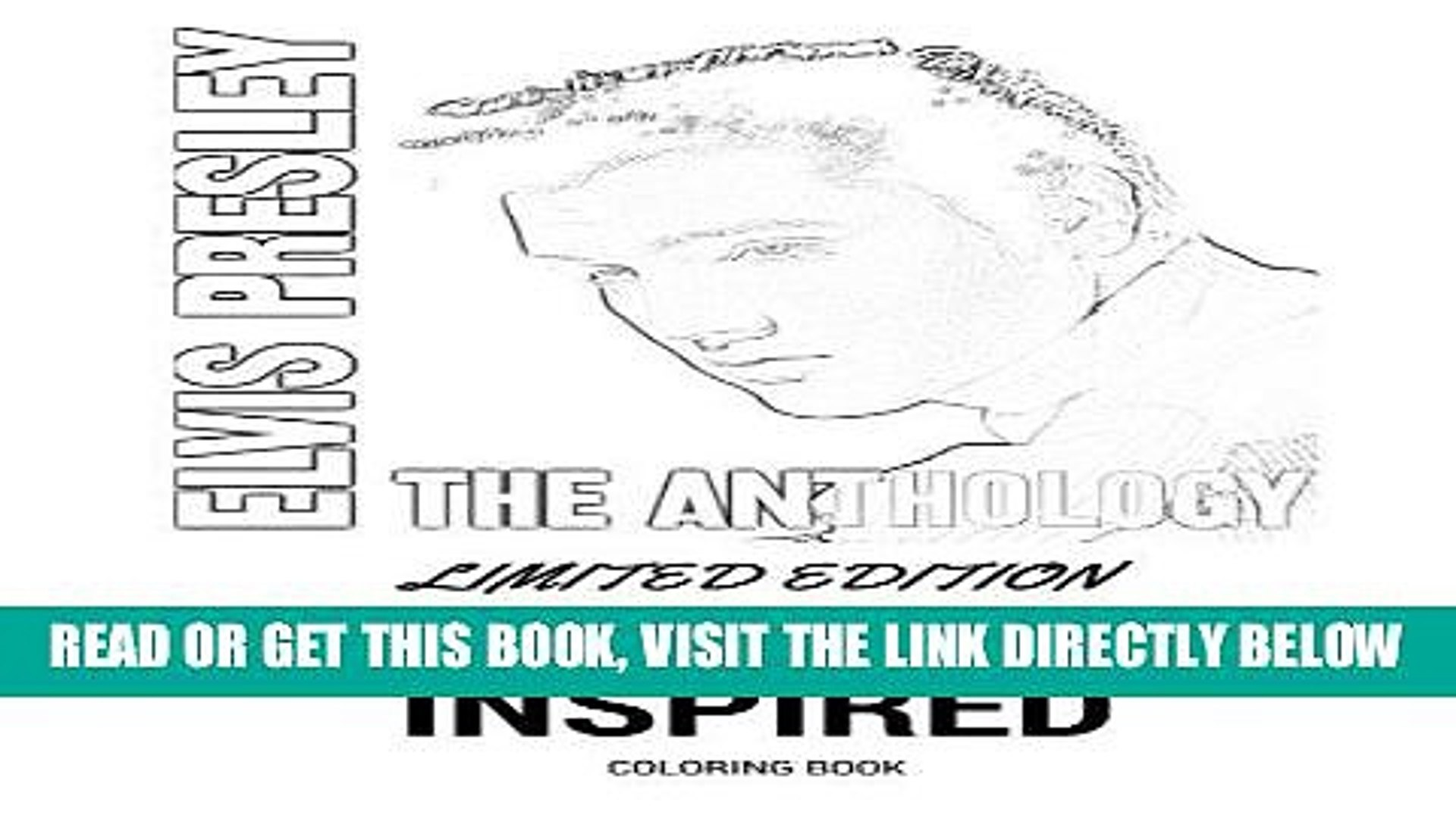 [READ] EBOOK Elvis Presley Coloring Book: Classic Rock and Roll and THE KING Inspired Adult
