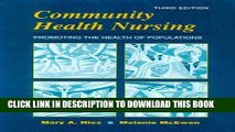 [FREE] EBOOK Community Health Nursing: Promoting the Health of Populations, 3e (Community Health