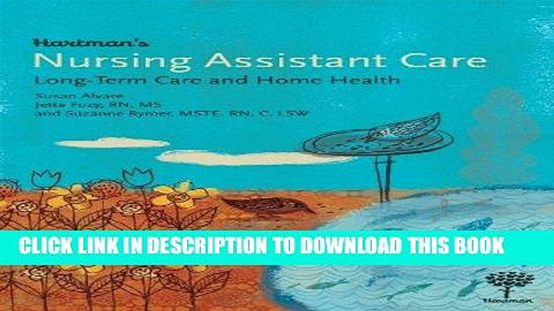 [FREE] EBOOK Hartman s Nursing Assistant Care: Long-Term Care and Home Health ONLINE COLLECTION