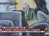 Joe Arpaio, Maricopa County sheriff, charged with criminal contempt