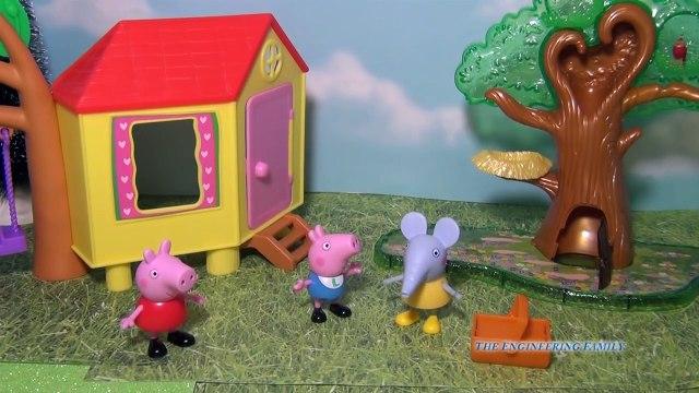 PEPPA PIG Nickelodeon Peppa Pig Candy Surprise Toys Video Parody