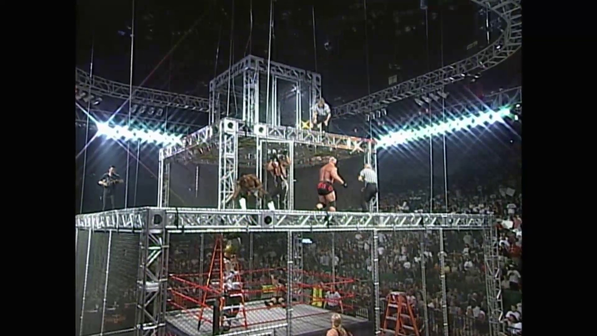 WCW - War Games (Triple Cage Match)