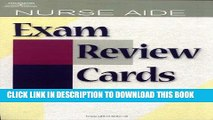 [FREE] EBOOK Nurse Aide Exam Review Cards (Test Preparation) BEST COLLECTION