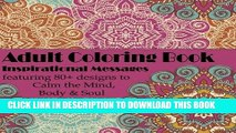 Best Seller Soul Lessons Adult Coloring Book: Inspirational Messages with Unique Coloring Designs