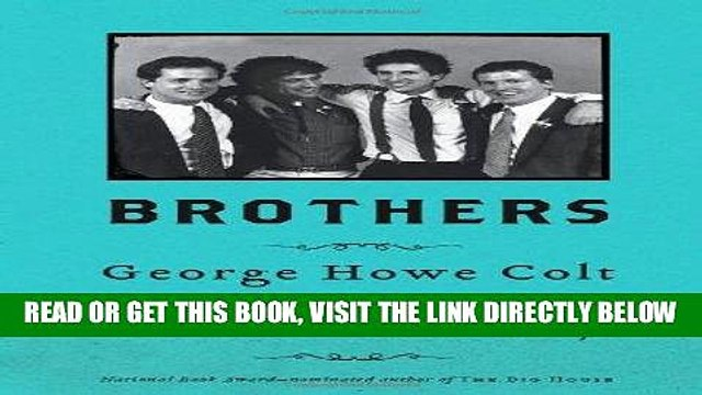 [FREE] EBOOK Brothers: On His Brothers and Brothers in History BEST COLLECTION