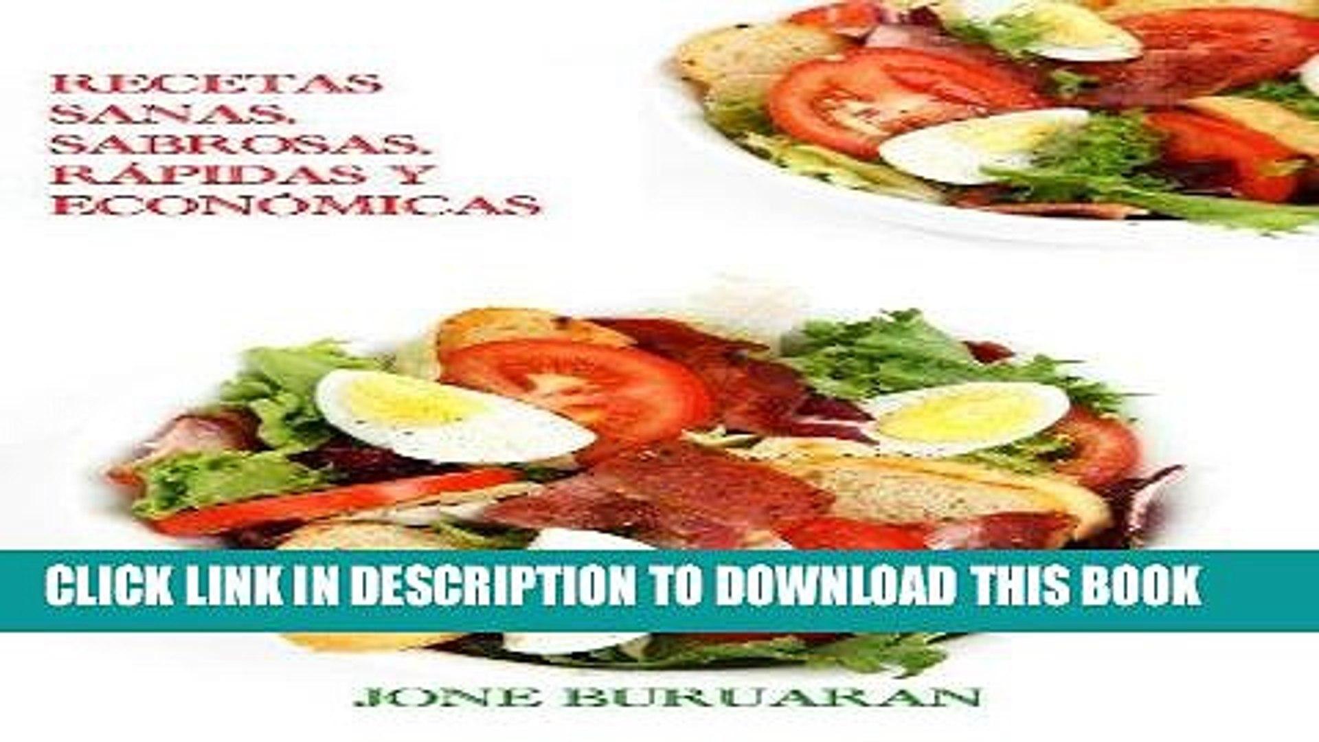 Best Seller Recetas Sanas Sabrosas Rãpidas Y Econã³micas Cocina Divertida N⺠1 Spanish