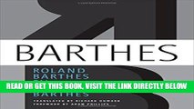 [FREE] EBOOK Roland Barthes by Roland Barthes ONLINE COLLECTION