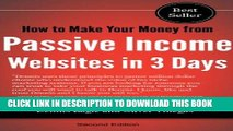 Ebook How to Make Your Money from Passive Income Websites in 3 Days (How to Make Money Making