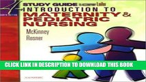 [READ] EBOOK Study Guide for Leifer Thompson s Introduction to Maternity and Pediatric Nursing,