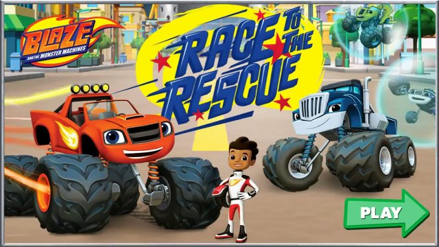 Blaze: Race to the Rescue! - Blaze and Monster the Machines Games
