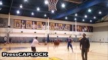 Stephen Curry ON FIRE During Shoot Around :: Warriors VS Spurs   Warriors Season Opener   NBA Season