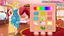 Barbie Floral Dress Design | Barbie Dress Up Girls GamePlay