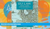 Books to Read  EU Law: Text, Cases, and Materials  Full Ebooks Best Seller