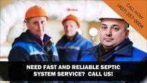 Septic System Maintenance in Orlando, FL | Contact Us (407) 357-0004