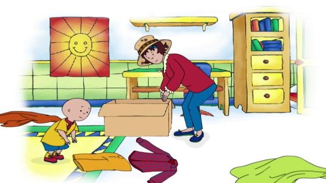 Caillou Can Build a Scarecrow | Cartoon for Kids