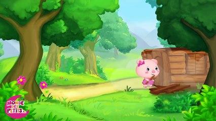 Les trois petits cochons - Conte pour enfants - Titounis