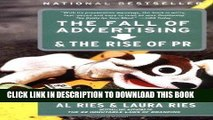 [PDF] Fall of Advertising   Rise of PR (02) by Ries, Al - Ries, Laura [Paperback (2004)] Full