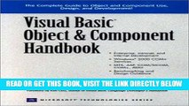[Free Read] Visual Basic Object and Component Handbook Full Online
